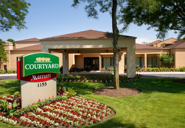 hotel - courtyard marriott
