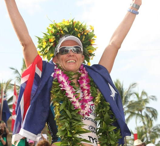 "Kona IRONMAN World Champion Mirinda ""Rinny"" Carfrae"