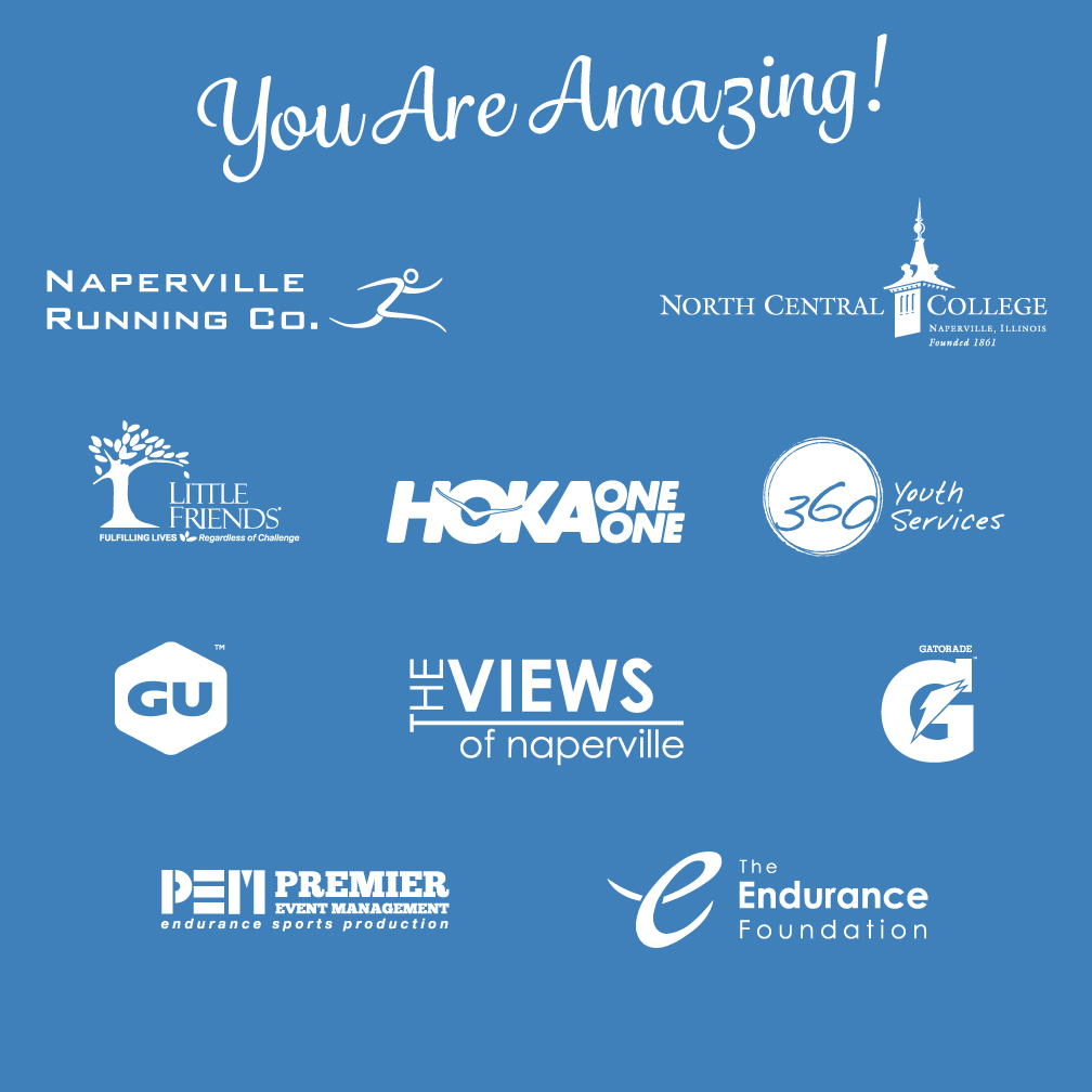 2017 Naperville Women's Half Marathon & 5K Sponsors And Partners